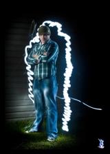 Graffiti Light Project Portraits - Chris