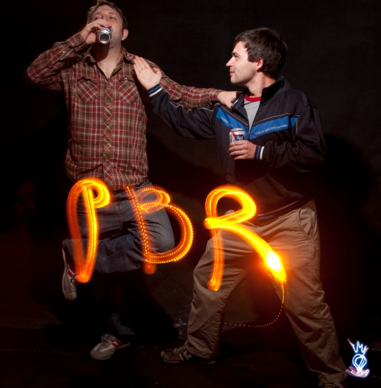 PBR - Graffiti Light Night at Scarpino's