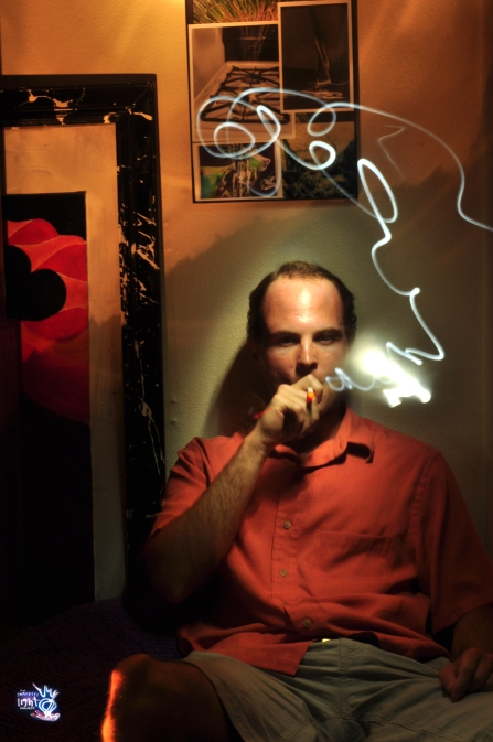 Chase - Light Painting Portrait