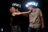 Bam! Whack! - Graffiti Light Night at Scarpino's