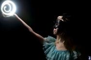 AnaBelle- Light Painting Portrait