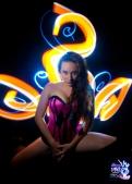 Seductions Lingerie Promo Light Painting Photo Shoot Demo