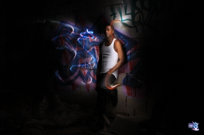 GRAFFITI LIGHT PROJECT PORTRAIT