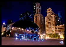 """""""CHICAGO"""" Light Painting - The Graffiti Light Project"""