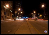 """CHICAGO STREET""  Light Painting - The Graffiti Light Project"