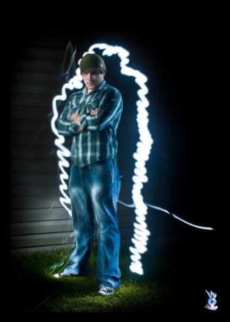Reynolds Light Painting Portrait