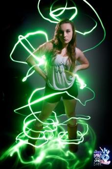 Graffiti Light Portraits