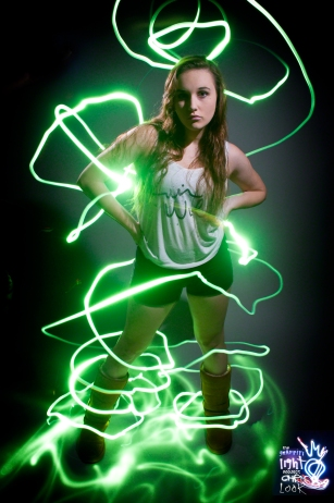 Graffiti Light Portraits