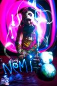 Graffiti Light Project - Light Painting Portraits - DJ NEMI