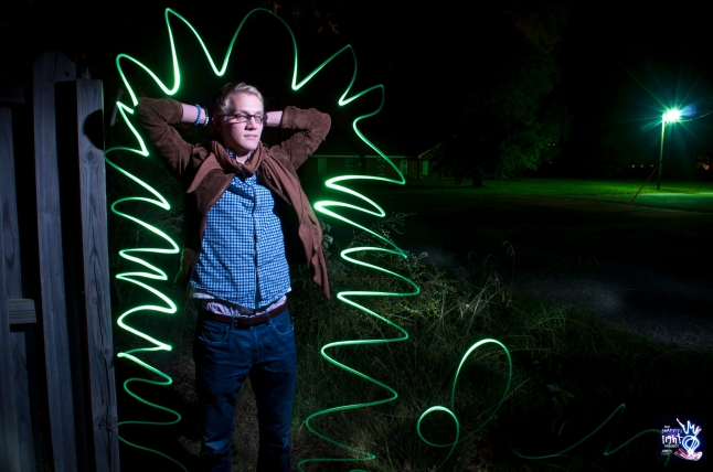 Graffiti Light Project Portraits