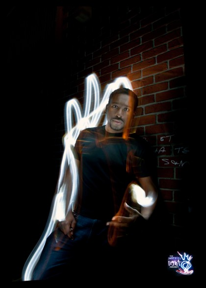Light Painting Portraits- The Graffiti Light Project