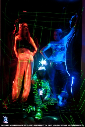 Light Painting Portrait Photography